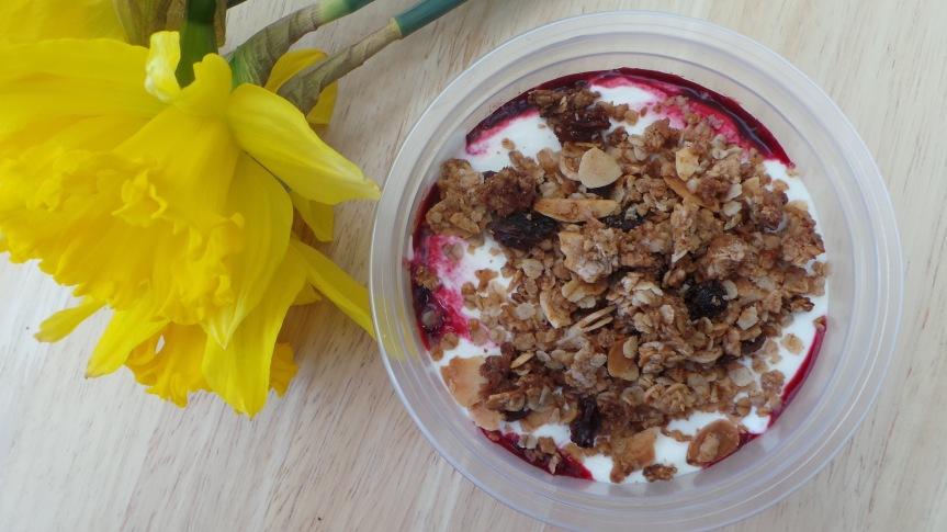Recipe: Almond and SultanaGranola