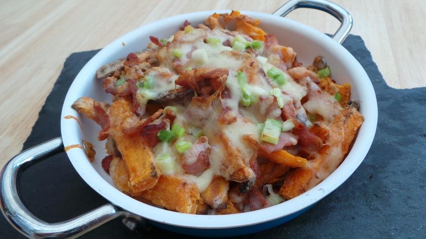 Recipe: Fully Loaded Sweet PotatoFries