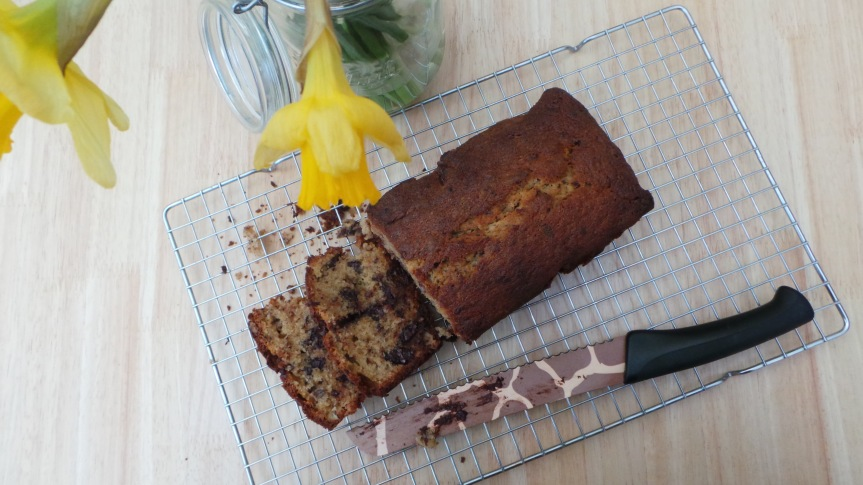 Recipe: Chocolate and Pecan Banana Bread