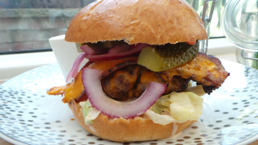 Recipe Review: Jamie Oliver's InsanityBurgers