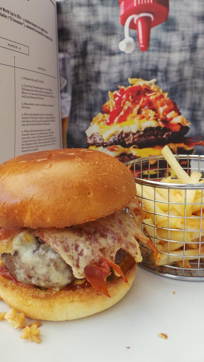 Recipe Review: Byron's Ronaldo Burger