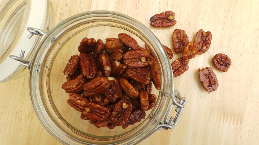 Recipe: Sweet and Salty Pecans