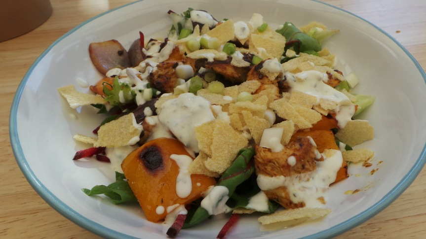 Recipe: Chicken Tikka Salad